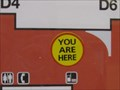 """Image for D4 """"You are here"""" sign - Washington Dulles International Airport - Sterling, VA"""