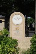 Image for Wallon Death Mask - Montparnasse Cemetery, Paris, France