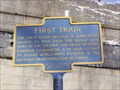 Image for First Train to Jamestown, New York