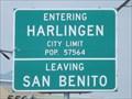Image for Harlingen TX - Pop. 57,564