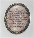 Image for Eric Charles Bird - St Mary - Everdon, Northamptonshire