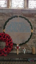 Image for Memorial Plaque - St Andrew - Denton, Lincolnshire