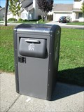 Image for Solar Powered Trash Can - Fremont, CA