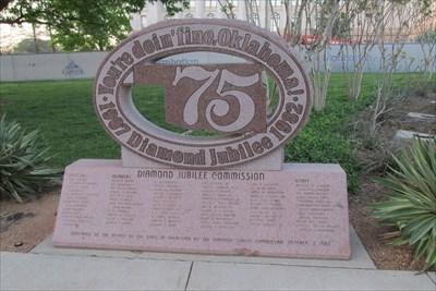 Waymark Code: WMPKZ6, Diamond Jubilee - Oklahoma City, OK - Community Commemoration on Waymarking.com