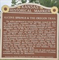 Image for Alcove Springs & The Oregon Trail ~ Blue Rapids, Kansas, USA