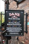Image for Dane Narrowboat - Middleport Pottery, Middleport, Burslem, Stoke-on-Trent, Staffordshire, UK.