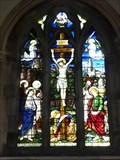 Image for East Window, St John the Baptist, Crowle, Worcestershire, England
