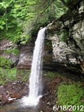 Image for Lower Hill Creek Falls - Falls of Hills Creek Scenic Area - Hillsboro, West Virginia