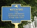 Image for OLDEST - Continuously Incorporated Village in New York State - Waterford, NY