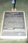 Image for The Travis Letter -- Alamo Plaza, San Antonio TX
