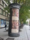 Image for Toilettensäule - Kronprinzstraße - Stuttgart, Germany, BW