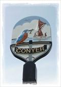 Image for Conyer Village Sign - Conyer, Kent, UK.