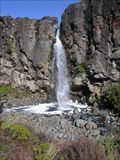 Image for Taranaki Falls View. Tongariro National Park. New Zealand.