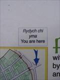 Image for Sign, Rhodfa's Gogledd, Aberystwyth, Ceredigion, Wales, UK