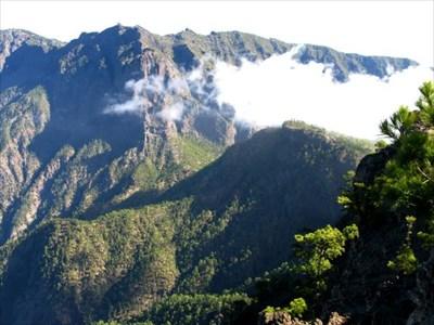 View towards La Cumbrecita.