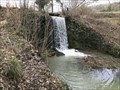 Image for River Glyme Dam Waterfall, Heythrop Park, Oxfordshire, UK