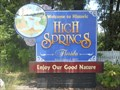 "Image for ""Enjoy Our Good Nature"" - High Springs, FL"