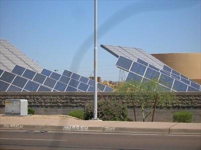 Ocotillo Power Plant - Tempe Arizona - Solar Power on