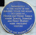 Image for Hester and Henry Thrale - West Street, Brighton, UK