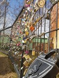 Image for Paris Arkansas Love Padlock Fence