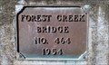 Image for Forest Creek Bridge No. 464 - 1954 - Jackson County, OR