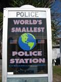 Image for World's Smallest Police Station, Carrabelle, FL