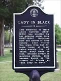 Image for Lady In Black - old Marietta Cemetery in Marietta, Cobb Co., GA