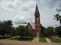 Image for Union Springs Presbyterian Church Spire (CM2299) - Union Springs, AL