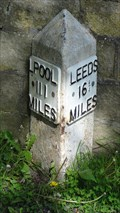 Image for Leeds Liverpool Canal milestone – Bingley, UK