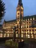 Image for Wasser-Hand-Pumpe auf dem Rathausmarkt - Hamburg, Germany