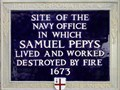 Image for Samuel Pepys - Seething Lane, London, UK