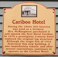 Image for Cariboo Hotel - Quesnel, BC