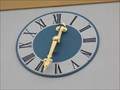 Image for Clocks on church of Heiligkreuz - Pleystein, BY, Germany