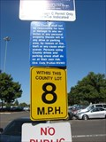 Image for 8 MPH at government parking lot - San Jose, CA.