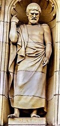 "Image for Aristocles, son of Ariston of the deme Colytus (""Plato"")  - The University of Birmingham - Edgbaston, Birmingham, U.K."
