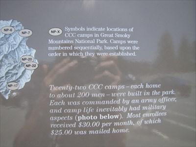 Close-up of Sign Text, Newfound Gap, North Carolina