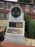 Image for George Washington - Commodore John Barry Memorial - Annapolis, MD