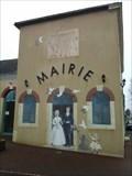 Image for Fresque des Mariés sortant de la mairie - Chaufour-Notre-Dame, Sarthe, France