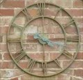 Image for Clock on Private House, Grimley, Worcestershire, England