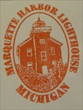 Image for Marquette Harbor Lighthouse Passport Stamp - Marquette, MI