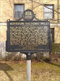 Image for Royston Factory Mill/ Henry Merrell