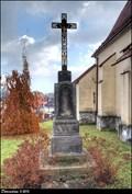 Image for Cross at the Church of Holy Cross / Kríž u kostela Sv. Kríže - Príbor (North Moravia)