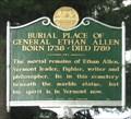 Image for Burial Place of General Ethan Allen - Burlington