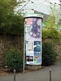 Image for Concrete Advertising Column - Bürgerstraße - Bad Godesberg - Germany - NRW
