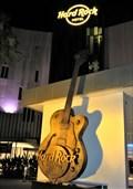 Image for Hard Rock Hotel - Guitar - Batu Ferringhi, Penang, Malaysia.