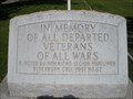 Image for Departed Veterans of All Wars Monument - Soda Springs, ID