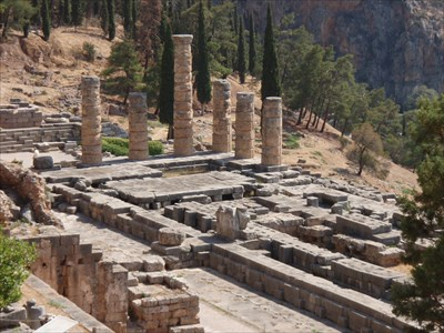 Temple of Apollo - Delphi, Greece