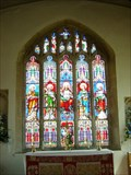 Image for All Saints Church Windows - King's Cliffe, Northamptonshire, UK