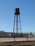 Image for Globe Aircraft Company Factory Airfield water tower, Saginaw, TX
