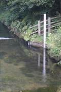 Image for River Wye Gauge, Ashford in the Water, Derbyshire.